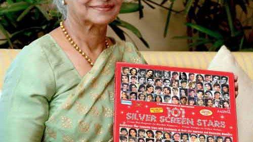 Waheeda Rehman with 101 Silver Screen Stars