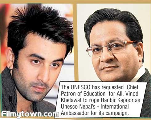 Ranbir Kapoor UNESCO