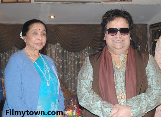 Asha Bhonsle & Bappi Lahiri