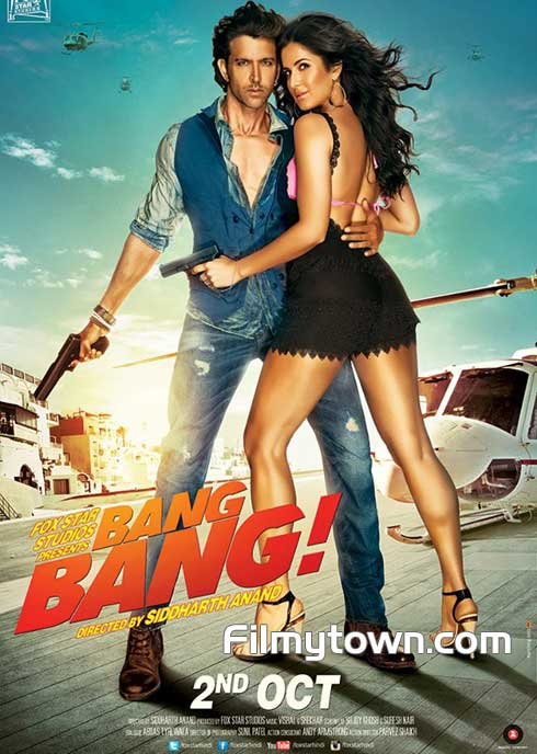 Bang Bang Hindi movie review