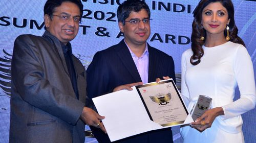 Shilpa Shetty at Brand Vision 2020 India