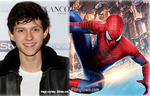 Tom Holland in Spiderman 3