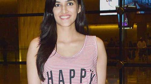 Kriti Sanon Happy