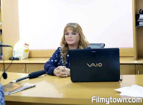 Nandita Singgha at J Dey press conference