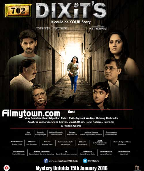 702 Dixits - Marathi movie review