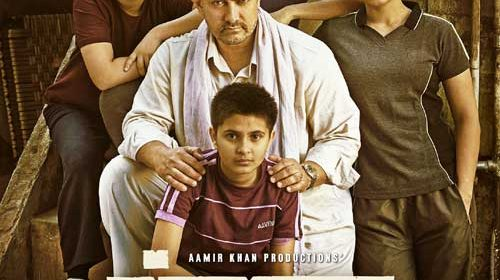Aamir Khan in Dangal Poster