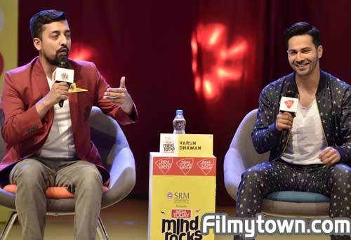 Varun Dhawan at India Today Youth Summit