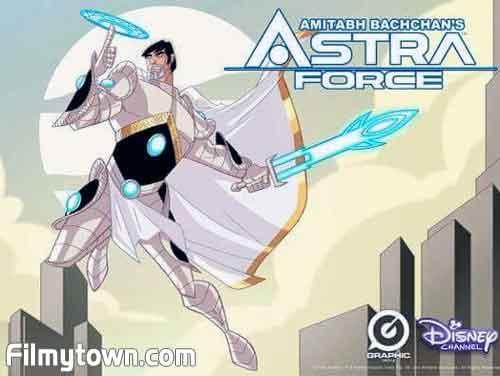 Amitabh Bachchan in Astra Force