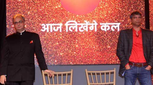 Deepak Rajadhyaksha and Punit Misra of ZEE TV