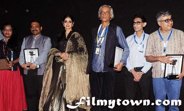 Sridevi at IFFI 2017