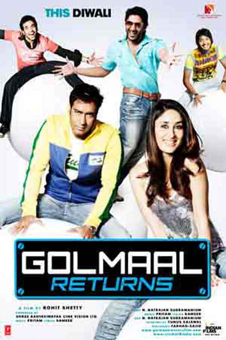 Golmaal Returns, movie review