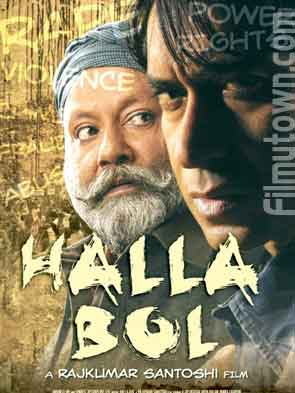 Halla Bol, movie review