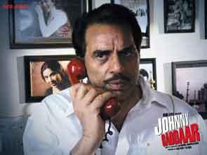 Dharmendra in Johnny Gaddaar