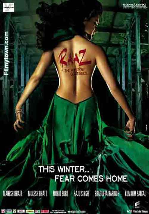 Raaz, The Mystery Continues, movie review