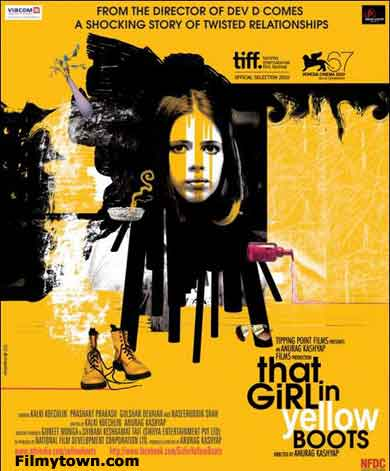 That Girl in Yellow Boots - movie review