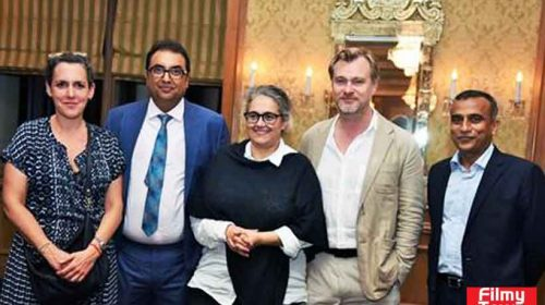 Christopher Nolan in Mumbai