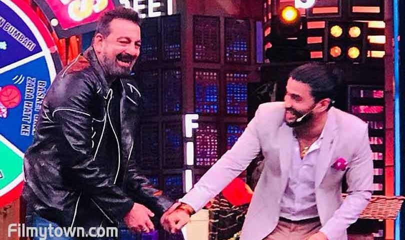 Sanjay Dutt and Balraj