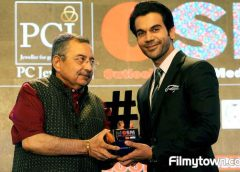Rajkummar Rao gets 'Entertainer of the Year' award at PCJ OSM Awards