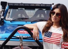 Shama Sikandar, Sahil Khan Flag off Mud Skull Rally