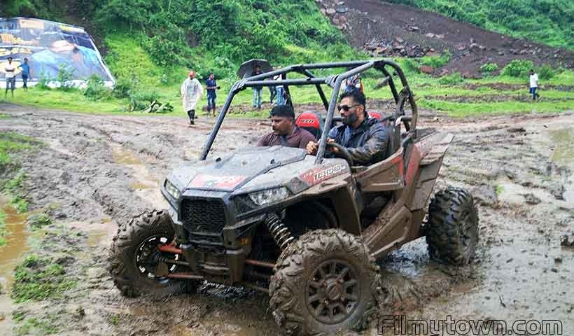 Suniel Shetty at Mud Skull Adventure