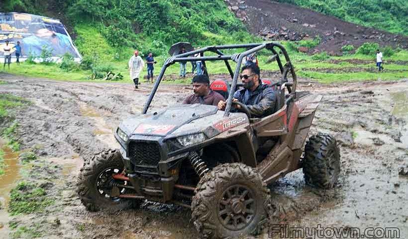 Suniel Shetty at Mud Skull Adventure