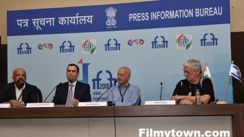 Dan Wolman's press conference at IFFI 2018