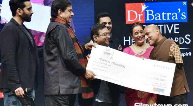 Shatrughan Sinha, Zayed Khan at Dr Batra's Positive Health Awards