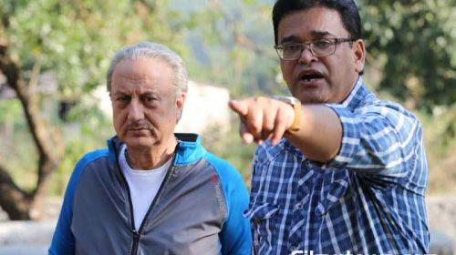 Anupam Kher with Ashok Nanda