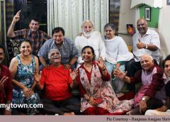 Aanjjan Srivastav celebrates his birthday with friends and media
