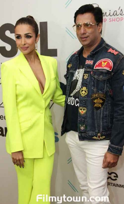 Malaika Arora and Madhur Bhandarkar at Tassel 2019 awards