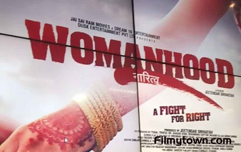 Womanhood Hindi feature film's poster launch