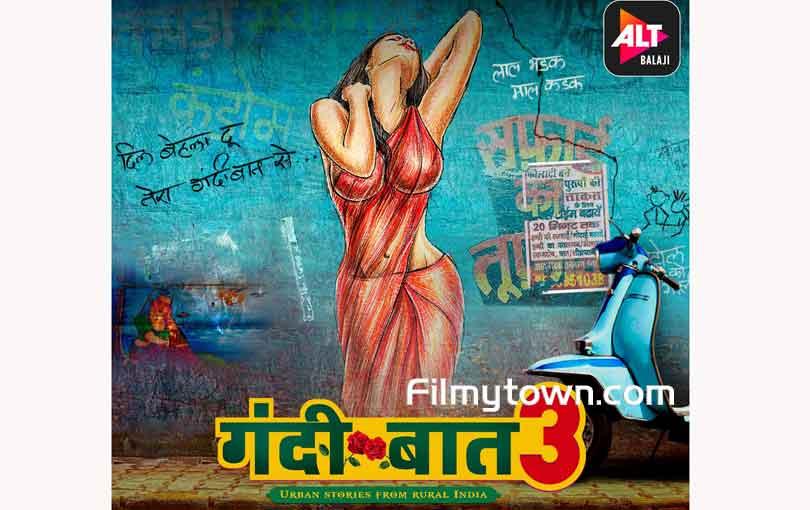 Gandii Baat 3 poster