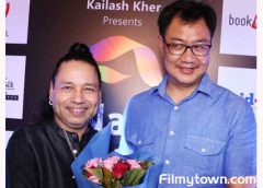Kiran Rijuju graces Kailash Kher's launch of KKALA on his birthday