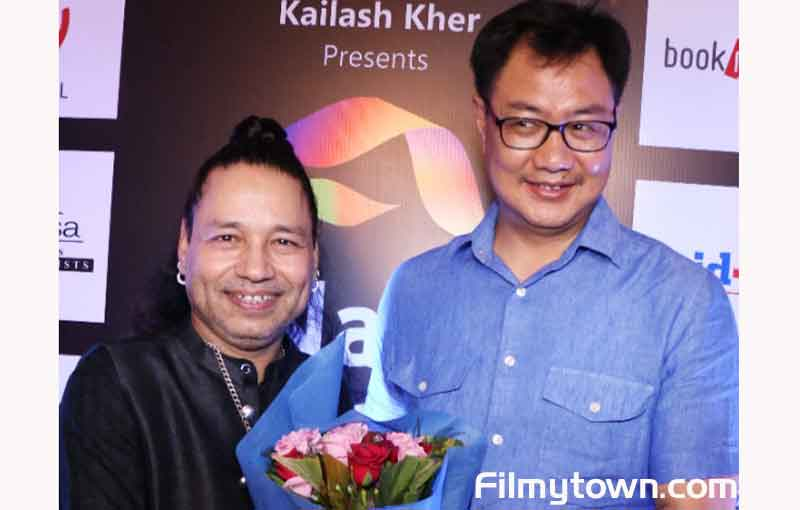 Kiran Rijuju on Kailash Kher Birthday