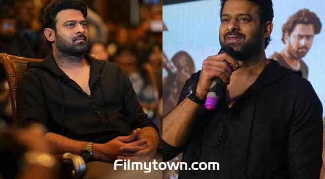 Prabhas promotes his upcoming film 'Saaho' in Bengaluru