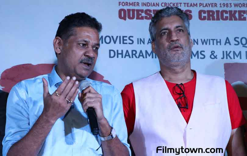 Kirti Azad and Atul Wassan at Kirket trailer launch