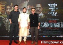 Priyanshu Chatterjee's Officer Arjun Singh IPS music, trailer launched