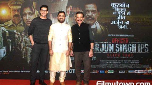 Priyanshu Chatterjee in Officer Arjun Singh IPS