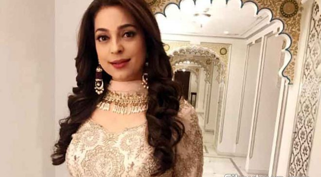 'Go Green' Juhi Chawla's message for her fans