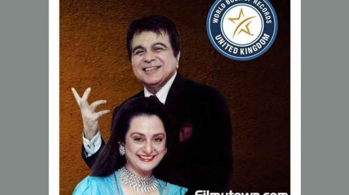 Dilip Kumar felicitated by World Book of Records, London