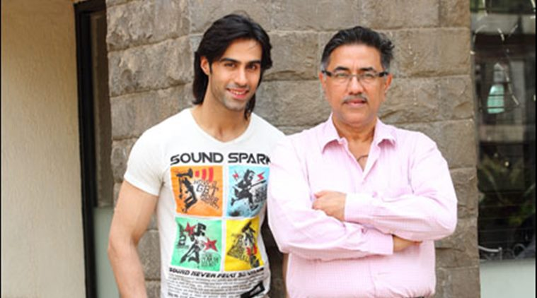 Shiv Darshan with his father Suneel Darshan