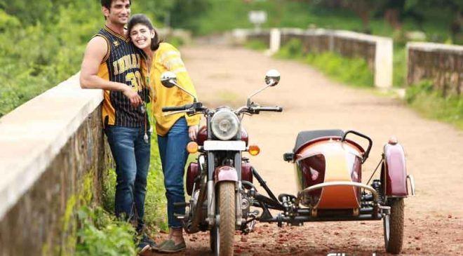 Sushant and Sanjana Sanghi bonded over their love for academics.