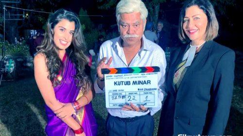 Aarti Khetrapal with Sanjay Mishra