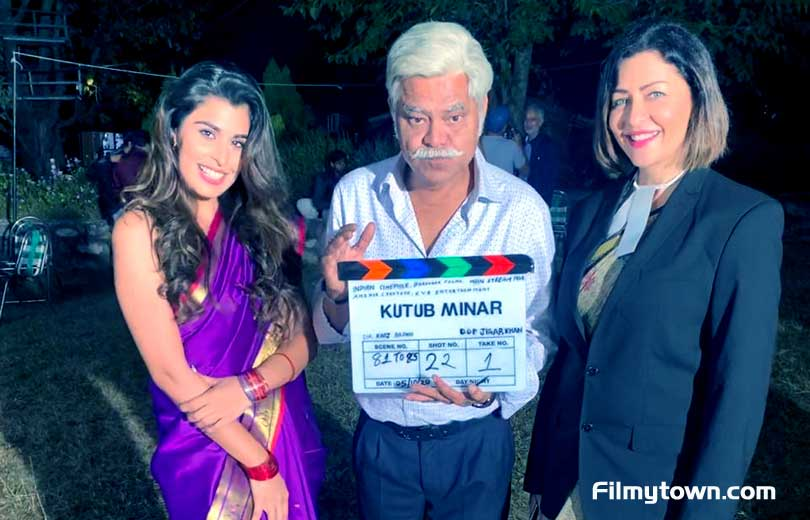 Aarti Khetrapal with Sanjay Mishra
