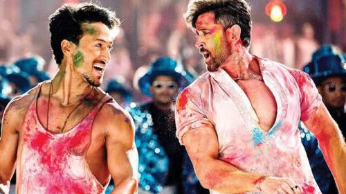 Hrithik, Tiger performing Jai Jai Shiv Shankar in the film WAR