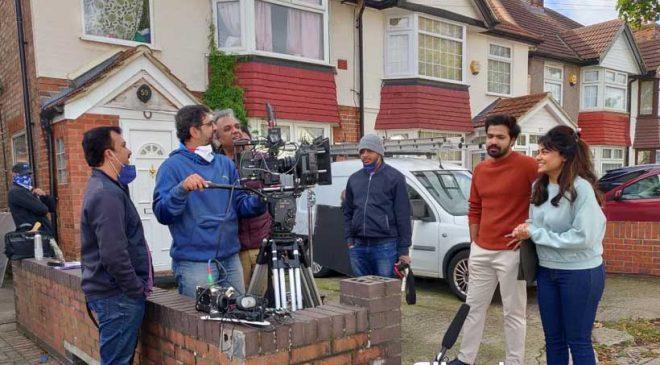 Prarthana Behere, Rinku Rajguru in UK for Nitin Prakash Vaidya's – Choomantar