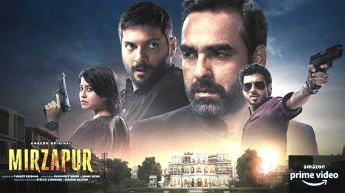Mirzapur Season 2 on Amazon Prime