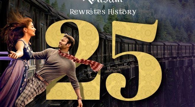 Prabhas' Radhe Shyam motion poster creates history!