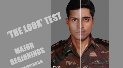 Adivi Sesh plays Major Sandeep Unnikrishnan