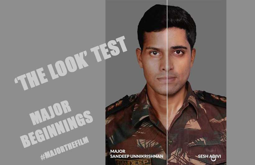 Adivi Sesh plays Major Sandeep Unnikrishnan